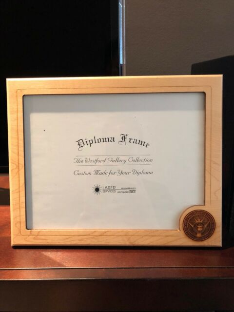 NEW- Cal Poly, SLO - Diploma frame - laser Cut Wood
