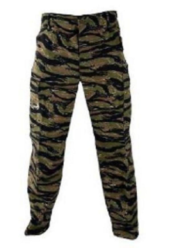 US US US Army TIGRATO BDU BATTAGLIA Dress Pantaloni TIGRE Stripe SMALL LONG 427861