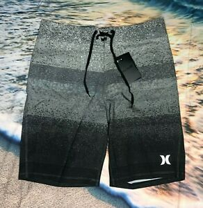 New-Hurley-Phantom-Stretch-Mens-Boardshorts-Size-30