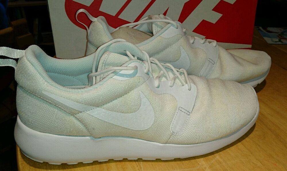 Nike Roshe One KJCRD off blanc UK 7 Homme Entièrement neuf dans sa Boîte EU 41 777429 100-