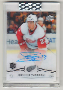 2018-19-UD-CLEAR-CUT-DOMINIC-TURGEON-RC-AUTO-CCR-DT-ROOKIE-AUTOGRAPH-Wings