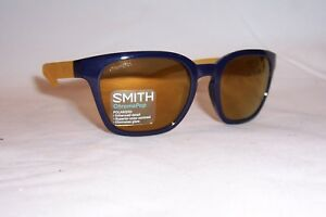 7bea251083ec6 NEW SMITH SUNGLASSES FOUNDER SLIM S DCD-QE BLUE BRONZE POLARIZED ...