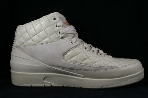 Air Jordan 2 de Promo 12 Tamaño Just Tan Beach Nike Retro muestra Don BRwdBq5