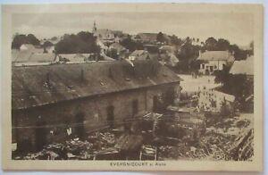 France-Evergnicourt-Field-Postcard-41152