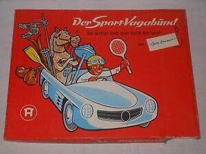 Vintage-Hausser-Elastolin-Game-034-Der-Sport-Rover-034-with-Figures