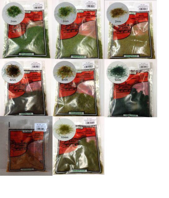 Javis JHG Static Hairy Grass Mix 2mm 6mm 10mm Rail Scenics Wargames Diorama