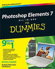 Photoshop Elements 7 All-in-one For Dummies by Ted Padova, Barbara Obermeier (Paperback, 2009)