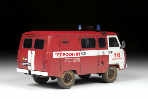 "1//43 UAZ /""3909/""-Fire Service Zvezda"