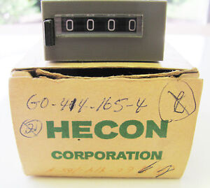 Hecon G0-422-565-1 Resetable Counter NEW
