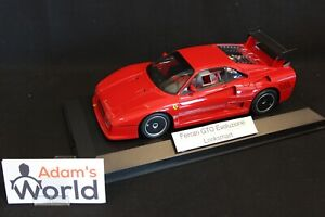LookSmart-Ferrari-288-GTO-Evoluzione-1-18-red-with-black-wheels-PJBB