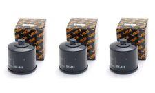 3 Pack Oil Filter TRIUMPH TIGER 956 TIGER 800XC TIGER 800 XC ABS 799 05 11-13