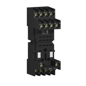 1-x-Schneider-14-Pin-Relay-Socket-DIN-Rail-lt-250V-for-use-with-RXZ-Series