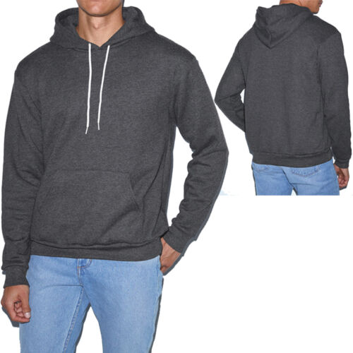 M S American Apparel Pullover Hoodie Poly Cotton Blend Hoody XS 2X NEW XL L