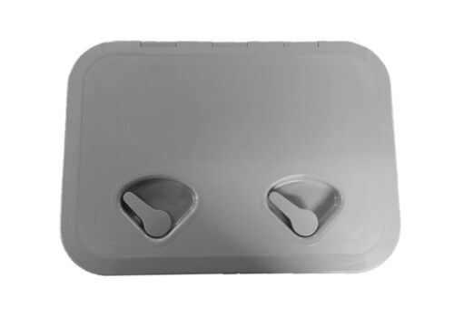 Grey Nuova Rade Hinged Boat Access//Inspection Hatch 440mm x 315mm