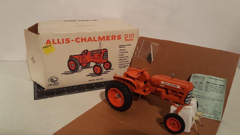 Allis Chalmers D10 D10 D10 1 16 diecast farm tractor replica by SpecCast d856a1