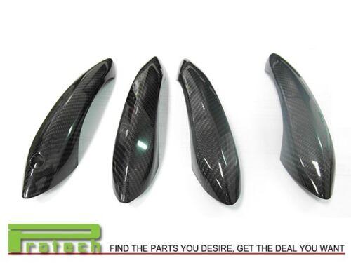 Door Handle Cover for BMW 2012 BMW F06 F12 F13 640i 650i M6 4Pcs Carbon Fiber