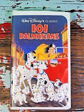 Walt Disney Black Diamond BD Classic VHS Home Movie Video Tape 101 Dalmatians