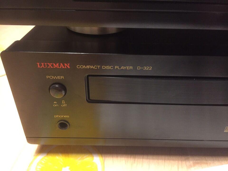 Stereoanlæg , Luxman, K-322 & D-322