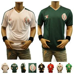 Mexico Soccer Jersey 2018 World Cup Uniform T-Shirt Men Sports Team ... 43b305d6f