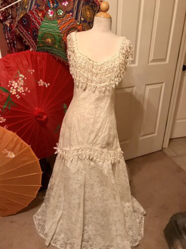 🎩 Vintage Wedding Dress 💍 Boho Wedding Dress, We