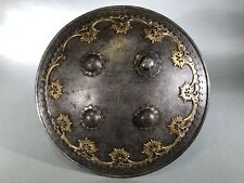 Antique Indo-Persian Shield. 19th Century. Armor. Not knife, sword
