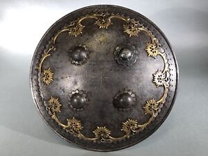 Image Is Loading Antique Indo Persian Shield 19th Century Armor Not