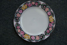 "Rare Tiens Han Tienshan Tapestry Rose Pattern 8"" Soup Cereal  Bowl Plate Y. S."