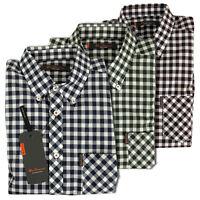 Mens Ben Sherman Mod Fit Gingham Check Classic Short Sleeve S/S Shirt XS-4XL