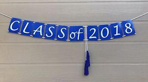 class of 2018 graduation banner graduation decor 2018 photo prop