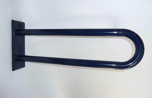 HEWI Wand-Stützgriff 600 mm - stahlblau-, ( 138)