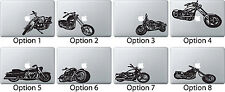 Motorcycle Motorbike Sticker Apple Mac Book Air/Pro Dell Laptop Decal Vehicle