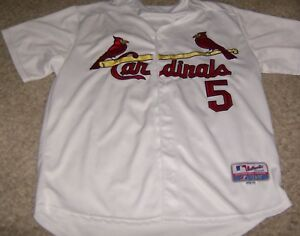 buy popular 6888c 9de98 Details about MLB Majestic Authentic Collection Size 50 Albert Pujols  Cardinals Jersey Used
