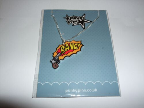 NEW One Punky Pins Small Drop Pendant