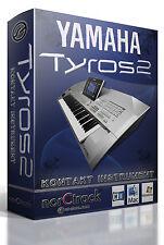 YAMAHA TYROS 2 Samples Sounds NI KONTAKT NKI norCtrack tyros Kontakt Instrument