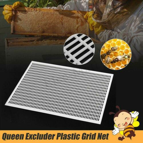 10 Frame Pro Beekeeping Beekeeper Bee Queen Excluder Trapping Grid Net Tool Kit