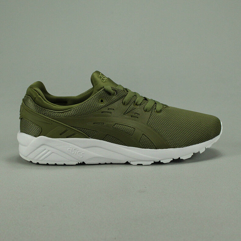 Bsics Gel-Kayano Trainer – Olive / White new in box UK Size 6,7,8,9,10,11