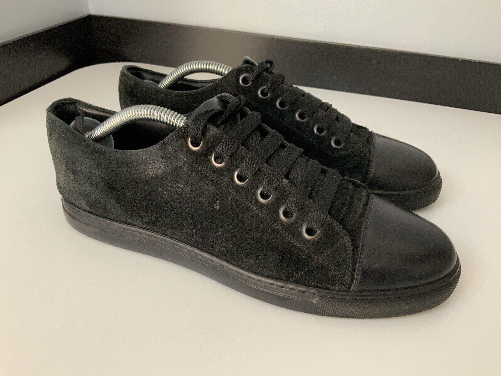 Marc Jacobs Para hombre Zapatillas, Zapatillas Talla UK 7 Negro Cuero Eu41, Gamuza, gc