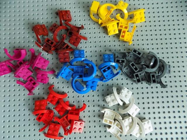 LEGO Lot of 4 Dark Bluish Gray 4x2 1//2x 2 Vehicle Car Truck Mudguard Pieces
