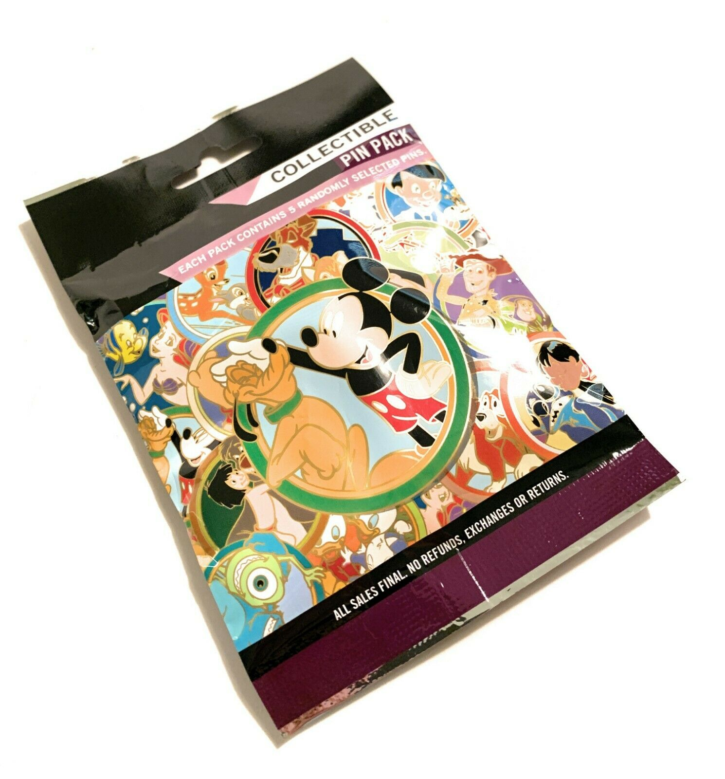 5-pin Collectible Mystery Pin Pack BEST FRIENDS New /& Sealed Disney