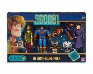 """Scooby! 6 Pièce 5"""" articulé & Présentoir Action Figure Pack SCOOBY DOO"""