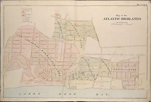 1889 WOLVERTON ATLANTIC HIGHLANDS MONMOUTH COUNTY NEW JERSEY COPY