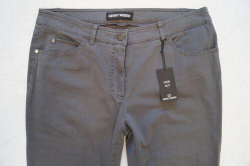 GERRY WEBER  Jeans Hose Slim Style  Gr.42 46 48 Regular Stretch 2 Farben NEU
