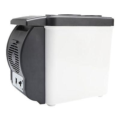 Auto Car Fridge Cool Box Refrigerator Electric Cooler Warmer Travel Portable 6L