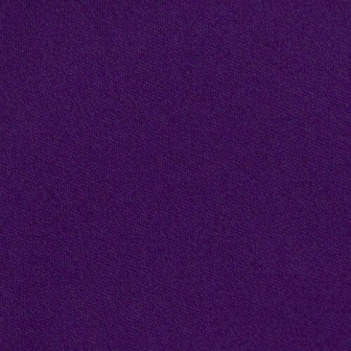 DQT Satin Plain Solid Purple Formal Wedding Mens Skinny Tie
