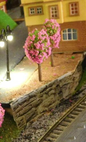 25 Rose florissante cerisiers 45 mm ou comme Rosa Busch 25 mm