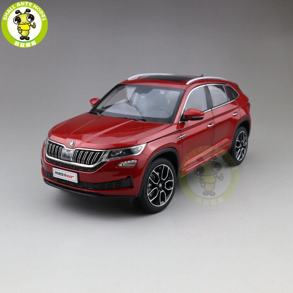 1 18 VW Volkswagen Skoda KODIAQ GT SUV Diecast Metal SUV CAR MODEL Toy Red