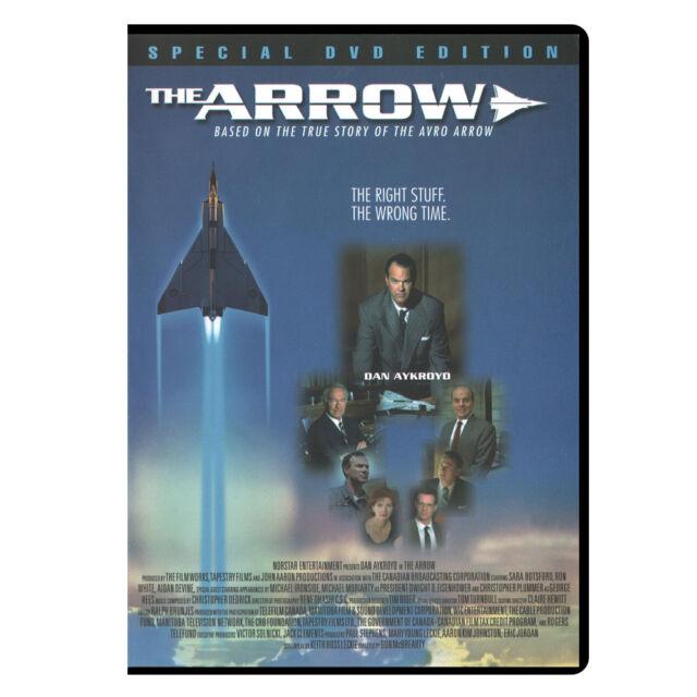 The Arrow (1997) DVD, Special Edition, Dan Aykroyd, Avro Arrow (New, Sealed)