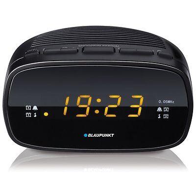 BLAUPUNKT CLR 80 Uhrenradio mit Wecker, Radiowecker LED Display, UKW mit PLL Uhr