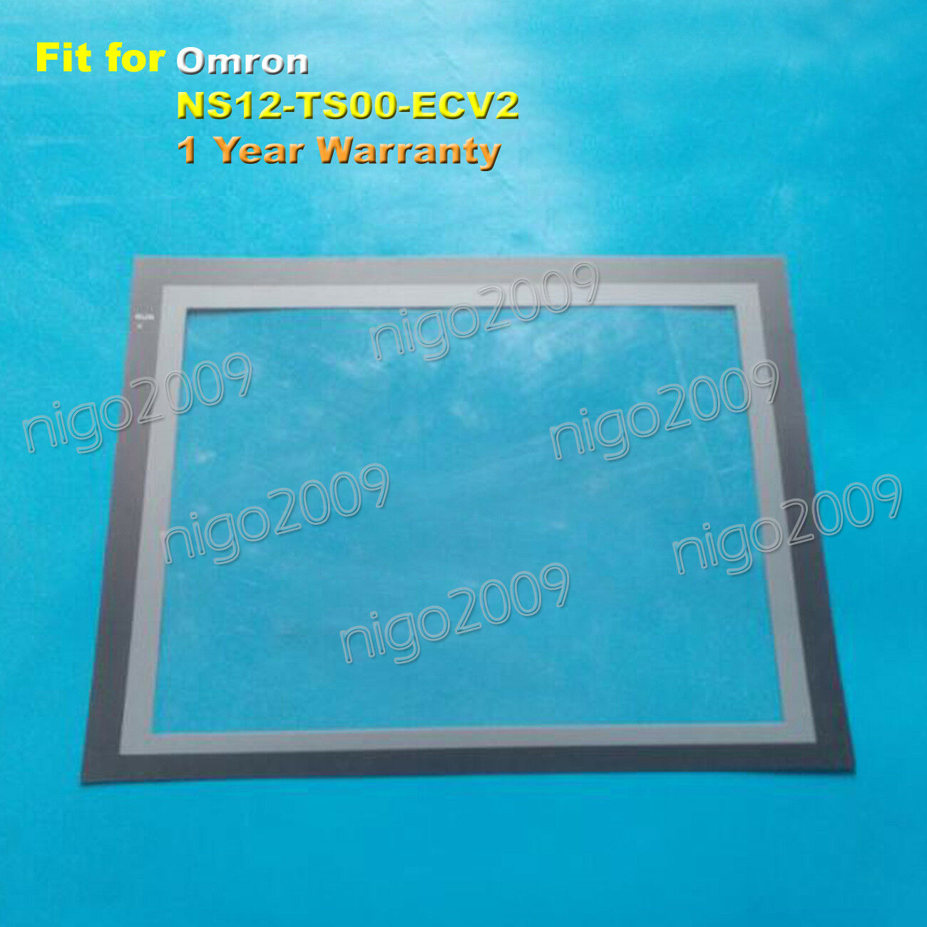 Screen Predective Film for Omron NS12-TS00-ECV2 , NS12TS00ECV2 1-Year Warranty