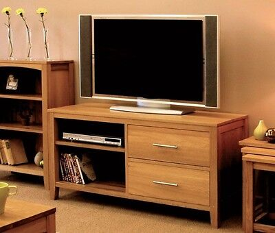 Condor solid oak living room furniture television cabinet stand unit